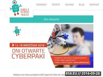Zrzut strony Kursy programowania robotów Lego dla dzieci i młodzieży