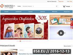 Miniaturka domeny www.cyfrowewydawnictwa.nexto.pl