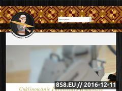Miniaturka domeny www.cyklinowanie-parkieciarz.pl