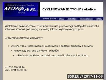 Zrzut strony Układanie parkietów Tychy, Bieruń, Lędziny, Katowice