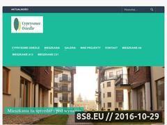 Miniaturka domeny www.cyprysoweosiedle.pl