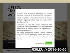 Miniaturka cytaty-aforyzmy-sentencje.pl (Cytaty, aforyzmy i sentencje)