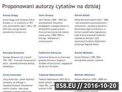 Miniaturka Zbiór cytatów, aforyzmów i powiedzeń (cytatybaza.pl)