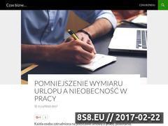 Miniaturka domeny czasbiznesu.pl