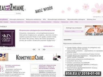 Zrzut strony CzasNaZmiane.pl