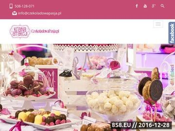 Zrzut strony Fontanny czekoladowe,czekoladziarki, bańki mydlane - wynajem lubelskie, Lublin