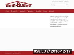Miniaturka domeny www.czeresniowa.rem-budex.pl