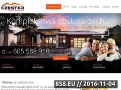 Miniaturka domeny www.czester-dachy.pl