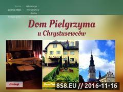Miniaturka Tanie noclegi Częstochowa (www.czestochowa.chrystusowcy.pl)