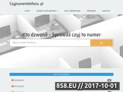 Miniaturka czyjnumertelefonu.pl (Czyj to numer)