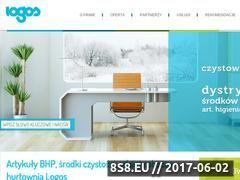 Miniaturka www.czystowpracy.pl (Hurtownia odzieży roboczej oraz artykułów BHP)