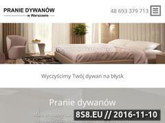 Miniaturka domeny www.czyszczeniedywanow-warszawa.pl