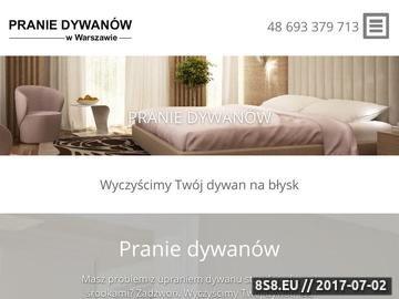 Zrzut strony Pranie dywanów Warszawa - czyszczenie tapicerki i pranie wykładzin