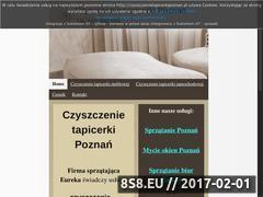 Miniaturka domeny www.czyszczenietapicerkipoznan.pl