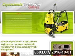 Miniaturka domeny www.czyszczeniewykladzin.bydgoszcz.pl