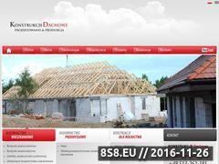 Miniaturka domeny dachowekonstrukcje.com