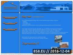 Miniaturka domeny www.dagi-bud.com.pl