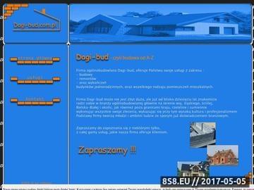 Zrzut strony Firma remontowo-budowlana - Dagi-bud, Bielsko-Biała i okolice
