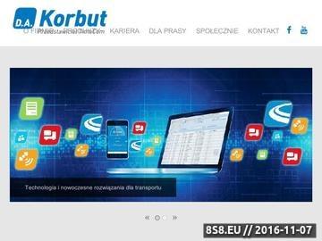 Zrzut strony Dariusz Korbut