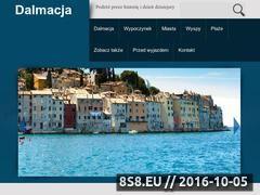 Miniaturka domeny dalmacja.com.pl