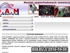 Miniaturka domeny www.damautogaz.pl
