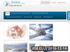 Miniaturka domeny www.damo.pl