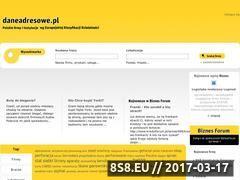 Miniaturka domeny www.daneadresowe.pl