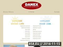 Miniaturka domeny danex-kapelusze.pl