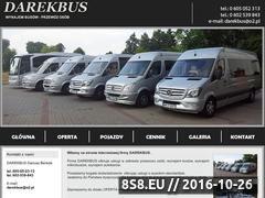 Miniaturka domeny darekbus.pl
