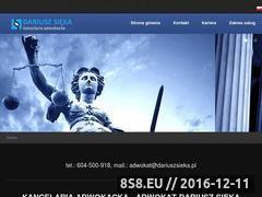 Miniaturka domeny dariuszsieka.pl