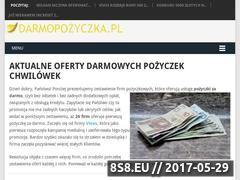 Miniaturka darmopozyczka.pl (Porównywarka ofert pożyczek chwilówek online 0%)