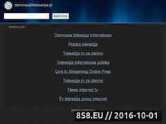 Miniaturka Najlepsze kanały telewizyjne - Darmowa Telewizja Internetowa (www.darmowa24telewizja.pl)