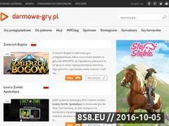 Miniaturka darmowe-gry.pl (Darmowe gry przeglądarkowe i MMO)