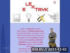 Miniaturka darziel.pl (Naprawa, pomiary i modernizacja instalacji elektrycznych)