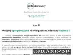 Miniaturka domeny www.datadiscovery.pl