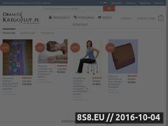 Miniaturka domeny dbamokregoslup.pl
