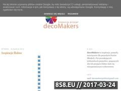 Miniaturka domeny decomakers.blogspot.com