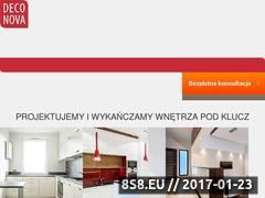 Miniaturka domeny www.deconova.pl