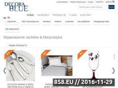 Miniaturka decorablue.pl (Styl marynistyczny)