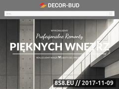 Miniaturka decorbud.pl (Remonty i wykończenia wnętrz)