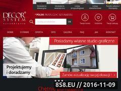 Miniaturka domeny www.decorsystem.pl