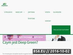 Miniaturka domeny deepgreen.com.pl