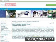 Miniaturka domeny www.dejonizator-jonizator.pl