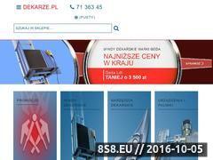 Miniaturka www.dekarze.pl (Profesjonalny sprzęt i narzędzia dla dekarzy)
