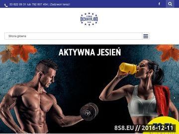 Zrzut strony Fitness Klub i Siłownia Bielsko-Biała