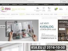 Miniaturka domeny www.dekoria.pl