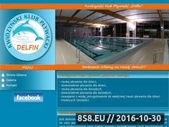 Miniaturka delfin.ckj.edu.pl (Kwidzyński Klub Pływacki Delfin)