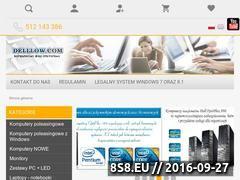 Miniaturka www.delllow.com (Używane oraz poleasingowe komputery i7 Dell 990)
