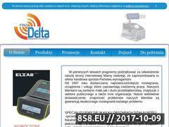 Miniaturka domeny www.delta-kasy.pl