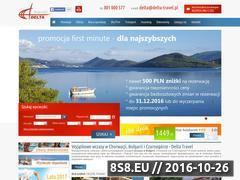 Miniaturka domeny www.delta-travel.pl